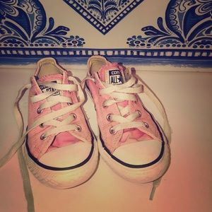 Converse All Star Girls Pink Youth Size 12